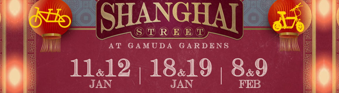 Shanghai CNY with ecocana at gamuda gardens