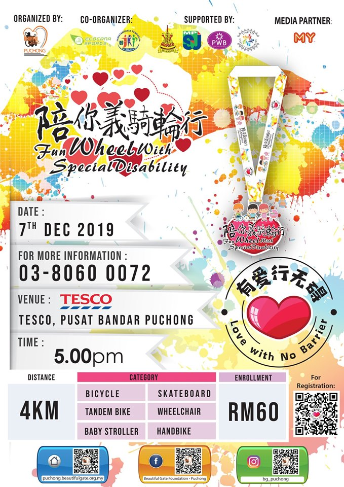 KLK Land Community Cyclethon 2019