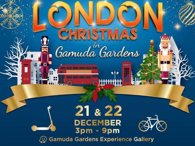 london christmas with ecocana at gamuda gardens