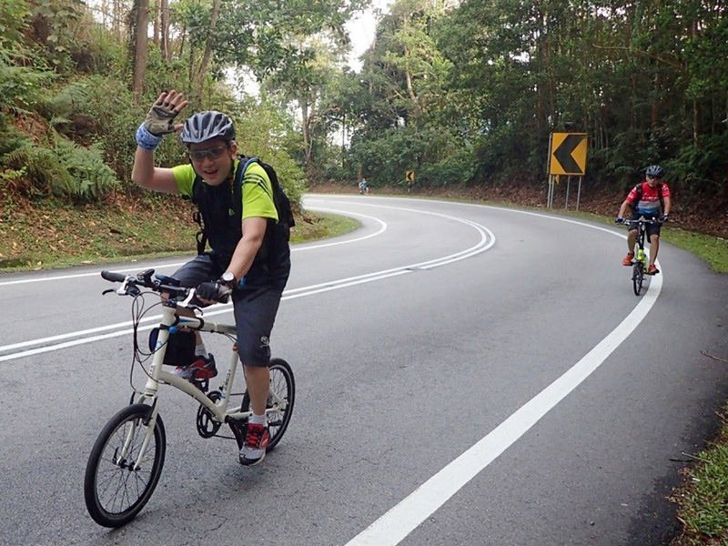 Cycling at Genting Peras