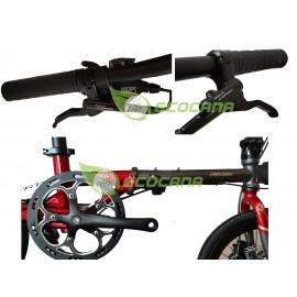 Crossmac Assos 2020 16in Folding Bike 10 Speed Hydraulic Disc Brake