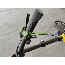 Pacific Flux 7.0 16in Folding Bike Speed 10 Disc Brake