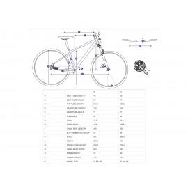 Giant ATX 860 2020 27.5in Mountain Bike Shimano Deore