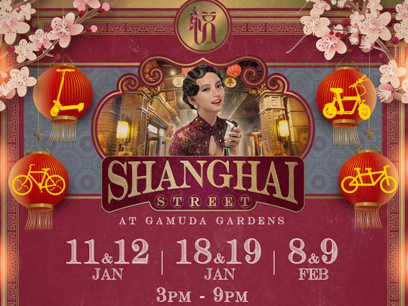 11-12/1; 18-19/1, 8-9/2 - Ride upon Shanghai CNY Gamuda Gardens