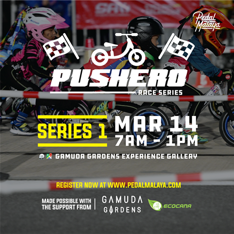 Pushero Race Series 01 - Gamuda Gardens 2020