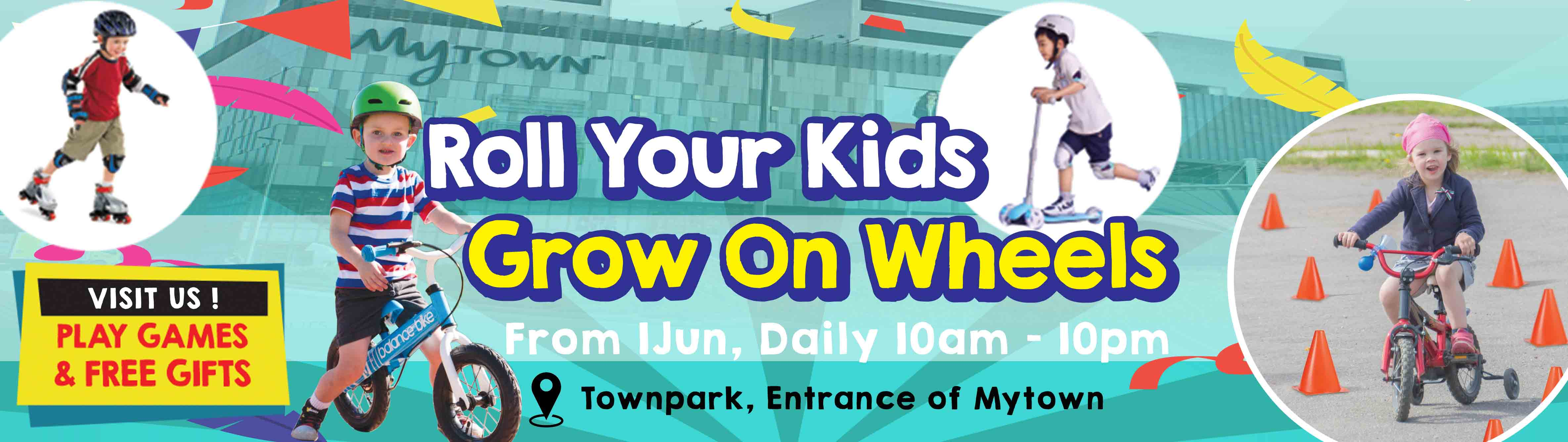 Roll Your Kids Grow On Wheels with KLBicycle at Mytown