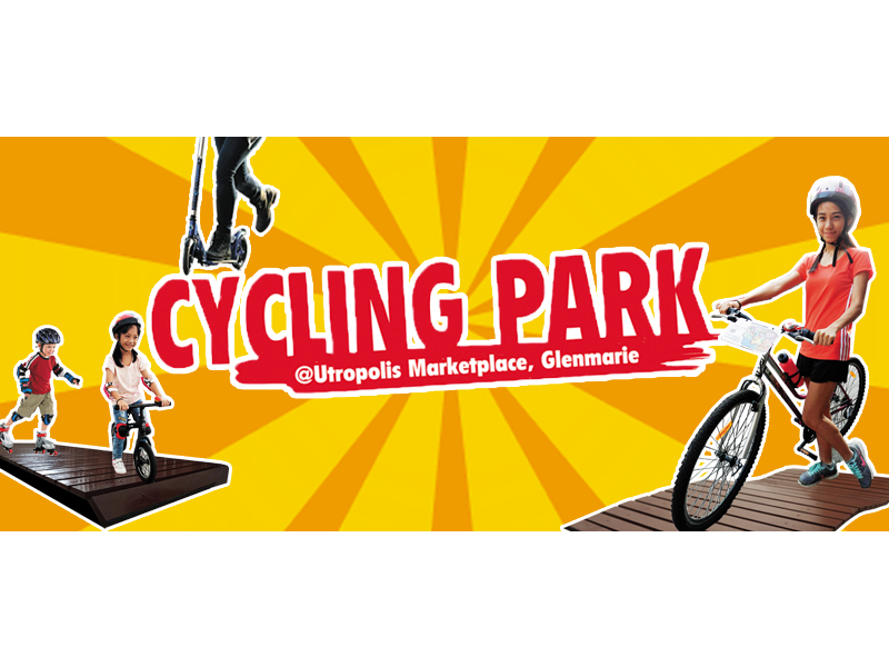 7-29/9 - Cycling Park at Utropolis Marketplace