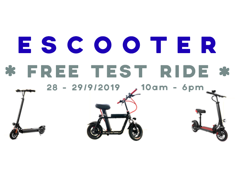 28-29/9 - Free E-Scooter Test Ride