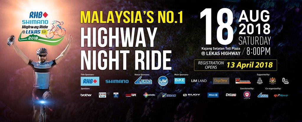 Lekas Highway Night Ride