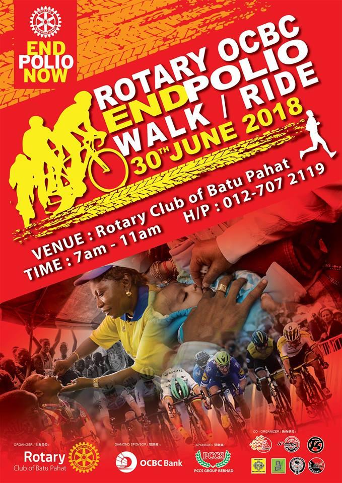 30/07 - Rotary OCBC EndPolio Ride