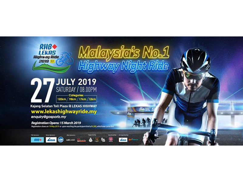 27/07 - RHB Lekas Highway Night Ride 2019