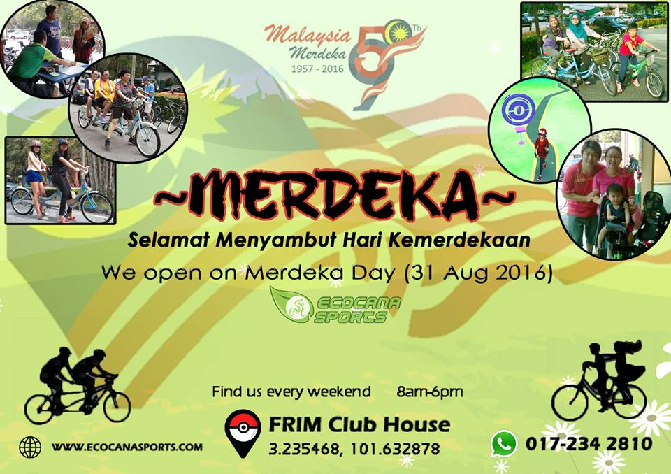 Happy Merdeka Day 2016!