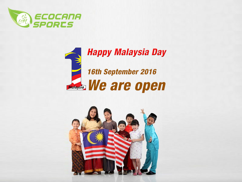 We are open at Hari Raya Haji & Malaysia day!