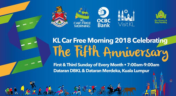 15/04 - KL Car Free Morning 2018